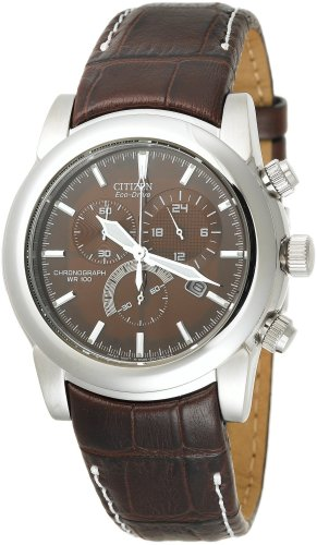 Citizen Men's AT0550-11X Eco-Drive Chronograph Stainless Watch