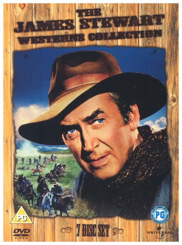 James Stewart Westerns Box Set [7 DVD]