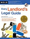 Every Landlord's Legal Guide (Book & CD-ROM)