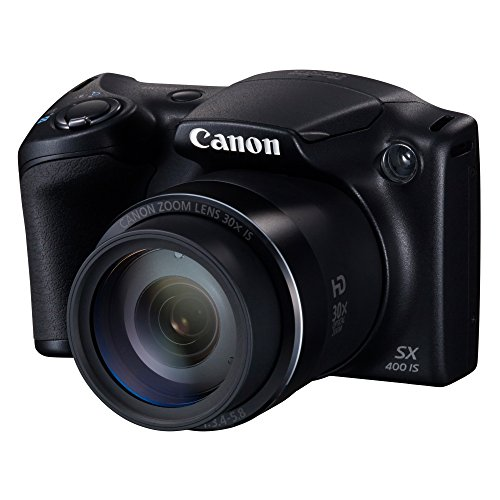 Canon �ǥ����륫��� PowerShot SX400IS(BK) ��1600����� ����30�ܥ����� �֥�å� PSSX400IS