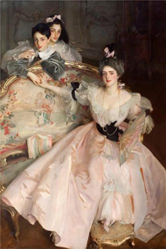 Oil painting 'John Singer Sargent - Mrs Carl Meyer and her Children,1896' printing on polyster Canvas , 16x24 inch / 41x61 cm ,the best Bedroom artwork and Home decor and Gifts is this Amazing Art Decorative Canvas Prints (22 Rat Shot Bullets compare prices)