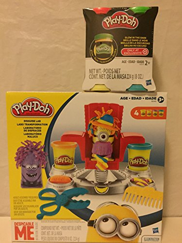 Play-Doh Featuring Despicable Me Minions Disguise Lab & Play Doh Glow 4pk (Play Dough Despicable Me compare prices)