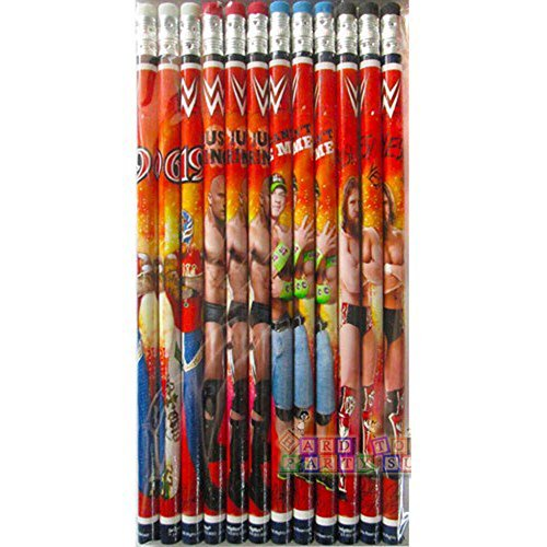 WWE Wrestling Pencils (12pc) - 1
