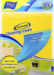 Titiz Economic Cleaning Cloth (3 Pieces In A Package)