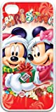 Disney Minnie Mouse Hard Cover Case for iPhone 4 4s , Christmas Edition