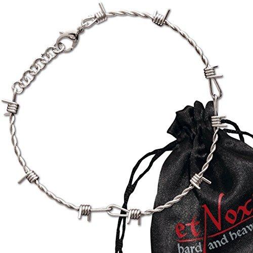 """Echt etNox - Collana """"Filo spinato"""" in acciaio INOX (SK502)"""