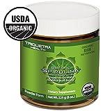 Organic Spirulina Powder: Purest Source of Organic Spirulina - 4 Organic Certifications: Certified Organic by USDA, Ecocert, Naturland & OCIA- Maximum Nutrient Density & Bioavailability