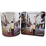 Oasis Mug And Coaster Set, What's The Story Morning Glory