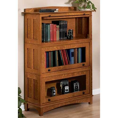 Barrister's Bookcase: Downloadable Woodworking Plan