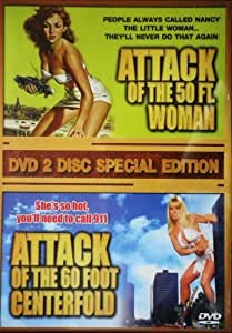 Attack Of The 50Foot Woman AND Attack Of The 60 Foot Centrefold (2 Disc Box Set)