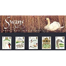 Royal Mail Stamps - Cisnes 1993 600 Aniversario de Abbotsbury Swannery Pack de Presentación PP203 impresión nº 234