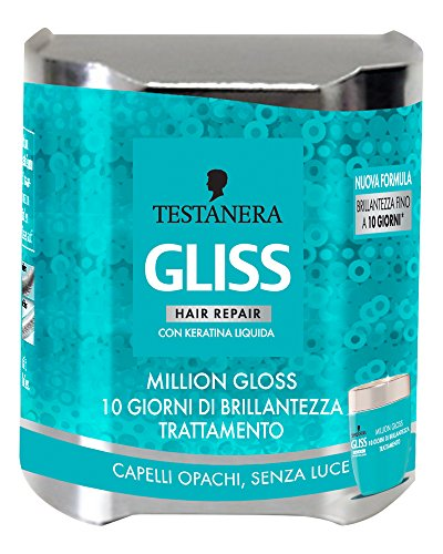 Testanera - Gliss Trattamento Million Gloss Con Cheratina 150Ml