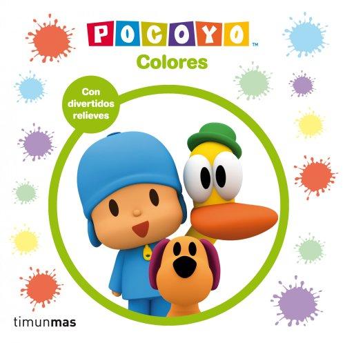 Pocoyó. Colores (Libros con relieve)