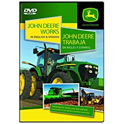 John Deere Works In English and Spanish / John Deere Trabaja en inglés y español.