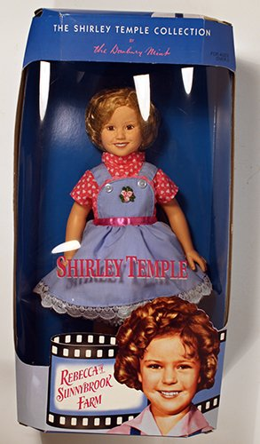 """The Shirley Temple Collection Rebecca of Sunnybrook Farm 14"""" Doll Figure"""