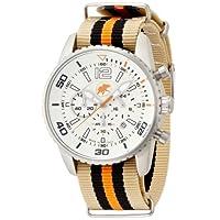 [ハンティングワールド]Hunting world 腕時計 ゼフィロ オレンジ リボンベルト 10気圧防水 クォーツ メンズ HW019OR メンズ 【正規輸入品】
