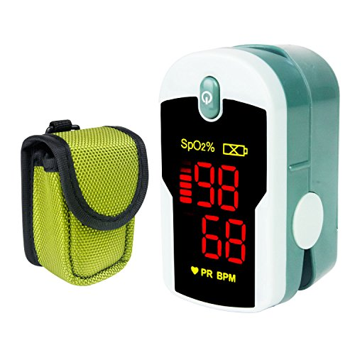 Choicemed Fingertip Pulse Oximeter  Lanyard and