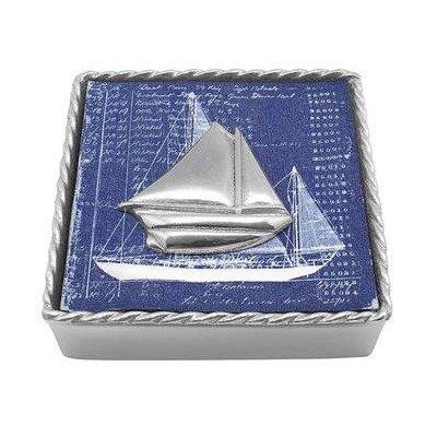 Sailboat Twist Napkin Box