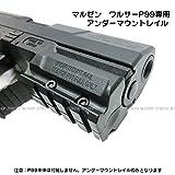 ワルサーP99フルサイズ専用アンダーマウントレイル(20mm)【マルゼン】【ガスガン 電動ガン共通】