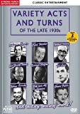VARIETY ACTS AND TURNS OF THE LATE 1930s [DVD]