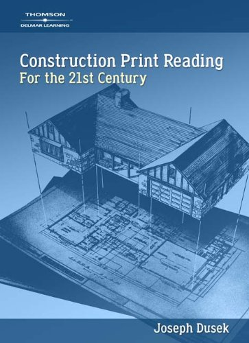 Construction Print Reading for the 21st Century - CD-ROM - Cengage Learning - 1418014389 - ISBN: 1418014389 - ISBN-13: 9781418014384