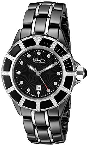 Bulova-Accu-Swiss-Womens-65R156-Diamond-Black-Watch