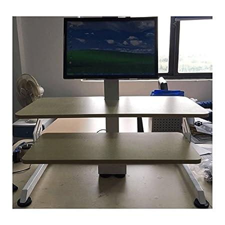ufficio fitness elettrico regolabile scrivania riser