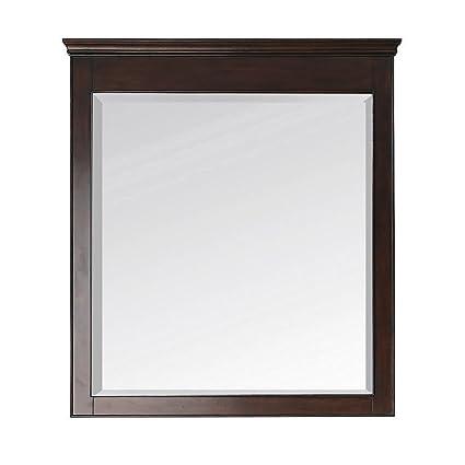 Avanity WINDSOR-M34-WA 34-Inch by 38-Inch Mirror Walnut