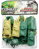 Combat Force Jumbo Army Play Set Pack - Figurines
