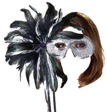 , OV-Grosshandel, Maske mit Stab, Maske