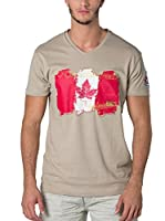 CANADIAN PEAK Camiseta Manga Corta Jerable (Beige)