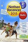 Cahier de vacances  - Maths 4e - 3e