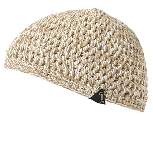 (カジュアルボックス)CasualBox ミックスハンドメイドイスラムキャップ 3色 フリーサイズ ニット帽 ワッチ メンズ レディース 帽子 Charm チャーム