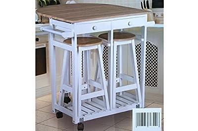 Küchenbar inkl. 2 Hocker von 1a-handelsagentur - Gartenmöbel von Du und Dein Garten