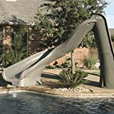 Pool Slides:Left Turbo Twister in grey Granite