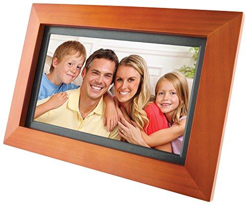 GPX PF903CW 9-Inch Digital Photo Frame (Walnut) (Digital Portrait compare prices)
