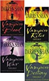 Darren Shan The Saga of Darren Shan Vampire Trilogy Collection 4 Books Set (12 Titles in 4 Books) (Vampire Blood, Vampire Rites, Vampire War, Vampire Destiny) (The Saga of Darren Shan)