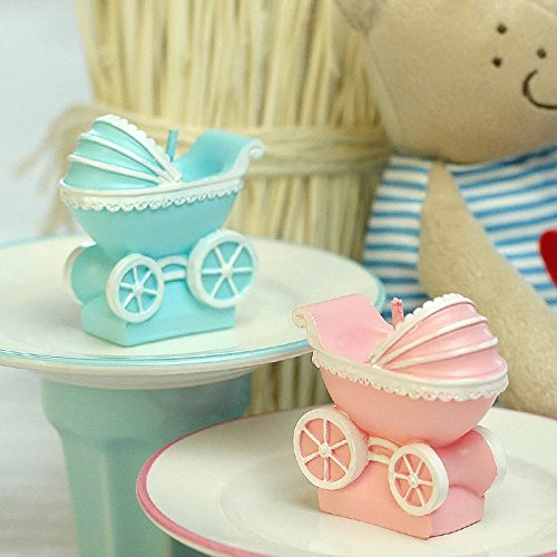 Baby Carriage Candle