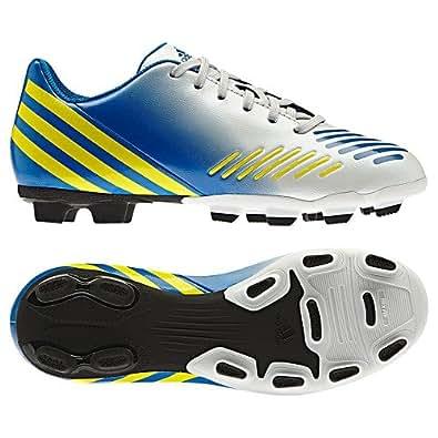 Adidas Predito Kids Junior FG Football Boots (13 Child UK, White)