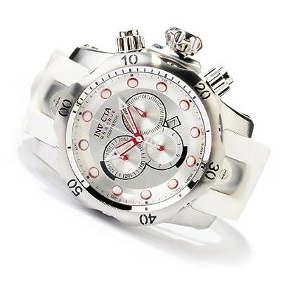 Invicta Reserve Men's Venom 11851 Swiss Made Quartz Chronograph Polyurethane Strap Watch