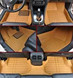 AudelTech Chevrolet Cruze Floor Mats & Chevy Car Mats 2009-2014 Next Generation Ultimate Custom Fit Full Surrounded Luxury Floor Liner (Yellow)
