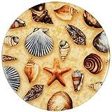 Andreas Silicone Trivet, Sea Shells, 10 Inch