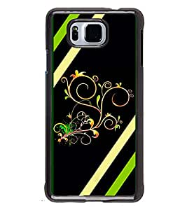 Printvisa 2D Printed Designer back case cover for Samsung Galaxy Alpha- D4354