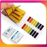 pH試験紙 80枚入り 溶液テストなど色々使える pH 試験用紙 PH1-14