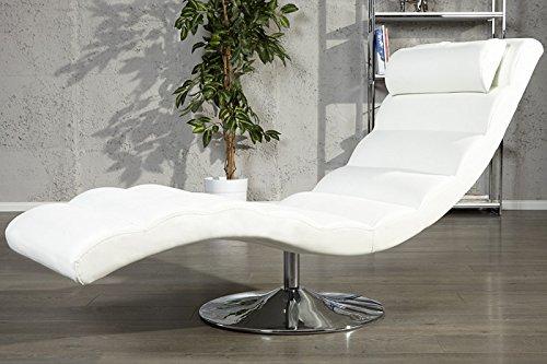 DuNord-Design-Relaxliege-Recamiere-LIGNANO-Design-Liege-Liegesessel-Chaiselounge-weiss