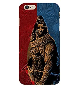 Lord Shiva 3D Hard Polycarbonate Designer Back Case Cover for Apple iPhone 6S Plus