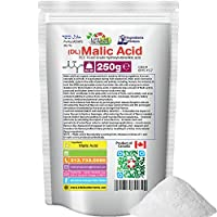 250g (8.82oz), 100% Pure MALIC ACID, Food Grade, 99.78% Pure - Free Shipping