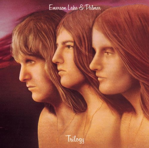 Original album cover of Trilogy by Emerson Lake and Palmer