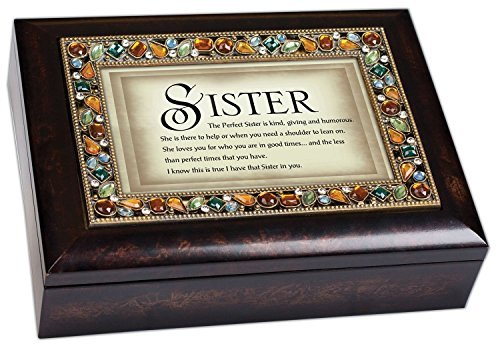 The Perfect Sister Italian Style Musical Jewelry Box