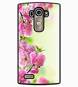 ColourCraft Beautiful Flowers Design Back Case Cover for LG G4
